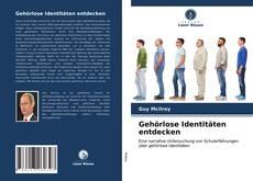 Capa do livro de Gehörlose Identitäten entdecken