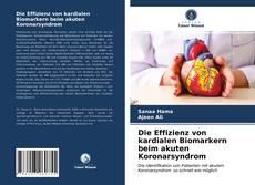 Capa do livro de Die Effizienz von kardialen Biomarkern beim akuten Koronarsyndrom
