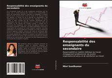 Bookcover of Responsabilité des enseignants du secondaire