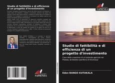 Buchcover von Studio di fattibilità e di efficienza di un progetto d'investimento