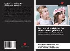 Portada del libro de System of activities for educational guidance