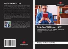 Borítókép a  OHADA CRIMINAL LAW - hoz