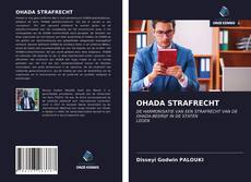 Buchcover von OHADA STRAFRECHT