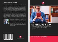 LEI PENAL DE OHADA kitap kapağı