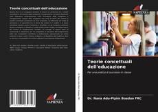 Couverture de Teorie concettuali dell'educazione