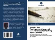 Portada del libro de Bericht des Rechnungsprüfers und Investitionsentscheidung der Aktionäre