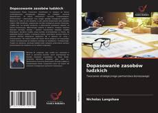 Bookcover of Dopasowanie zasobów ludzkich