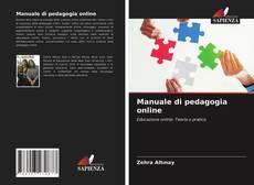 Buchcover von Manuale di pedagogia online