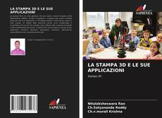 Portada del libro de LA STAMPA 3D E LE SUE APPLICAZIONI