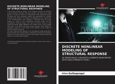 Capa do livro de DISCRETE NONLINEAR MODELING OF STRUCTURAL RESPONSE