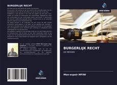 Copertina di BURGERLIJK RECHT