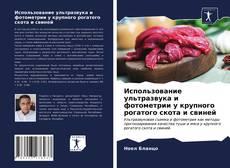 Copertina di Использование ультразвука и фотометрии у крупного рогатого скота и свиней
