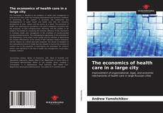 Обложка The economics of health care in a large city
