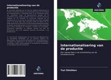Bookcover of Internationalisering van de productie