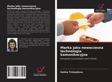 Capa do livro de Marka jako nowoczesna technologia komunikacyjna