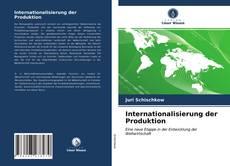 Internationalisierung der Produktion kitap kapağı
