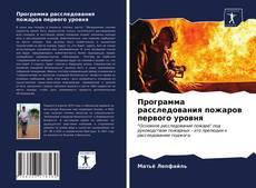 Программа расследования пожаров первого уровня的封面