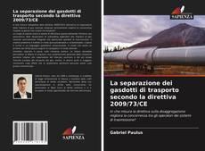 Capa do livro de La separazione dei gasdotti di trasporto secondo la direttiva 2009/73/CE