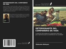 Borítókép a  DETERMINANTE DEL COMPAÑERO DE VIDA - hoz