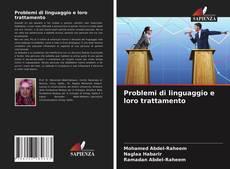 Couverture de Problemi di linguaggio e loro trattamento