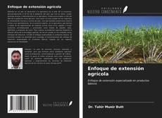 Portada del libro de Enfoque de extensión agrícola