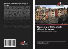 Bookcover of Slums e politiche degli alloggi in Kenya