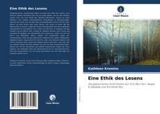 Borítókép a  Eine Ethik des Lesens - hoz