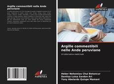 Buchcover von Argille commestibili nelle Ande peruviane