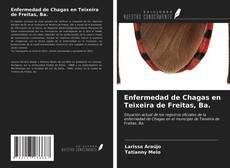 Portada del libro de Enfermedad de Chagas en Teixeira de Freitas, Ba.