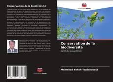 Couverture de Conservation de la biodiversité