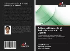 Bookcover of Addomesticamento di Toddalia asiatica L. in Uganda