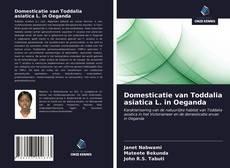 Bookcover of Domesticatie van Toddalia asiatica L. in Oeganda