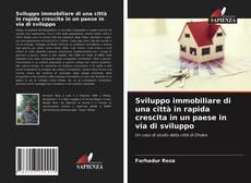 Bookcover of Sviluppo immobiliare di una città in rapida crescita in un paese in via di sviluppo