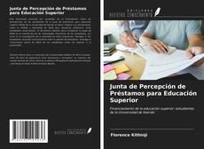 Bookcover of Junta de Percepción de Préstamos para Educación Superior