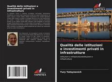Copertina di Qualità delle istituzioni e investimenti privati in infrastrutture