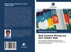 Portada del libro de Web Content Mining aus dem Hidden Web