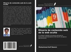 Capa do livro de Minería de contenido web de la web oculta