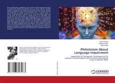 Philistinism About Language Impairment kitap kapağı