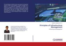 Capa do livro de Principles of Infrastructure Management
