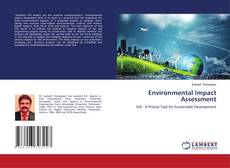 Bookcover of Environmental Impact Assessment