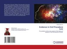 Bookcover of Evidence in Civil Procedure Law
