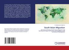 South Asian Migration kitap kapağı