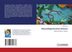 Couverture de Neurodegenerative Disease