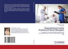 Bookcover of Organizational Justice Practices of Nurse Managers