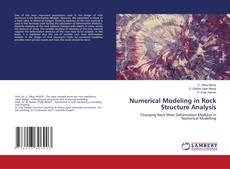 Capa do livro de Numerical Modeling in Rock Structure Analysis