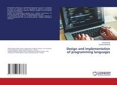 Capa do livro de Design and implementation of programming languages