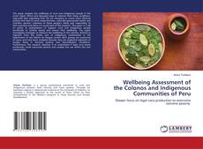 Capa do livro de Wellbeing Assessment of the Colonos and Indigenous Communities of Peru