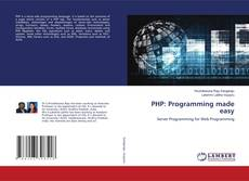 Bookcover of PHP: Programming made easy