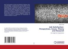 Portada del libro de Job Satisfaction: Perspectives, Issues, Theory and Research