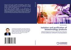 Couverture de Isolation and purification of biotechnology products
